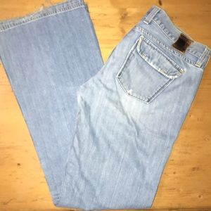 Lucky Brand Jeans Juniper Flare distressed 8